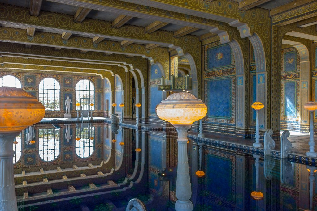 The Roman Pool at Hearst Castle